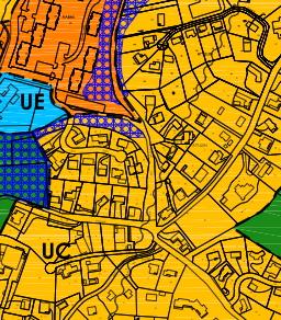 Plan de zonage du Plan local d'urbanisme