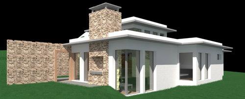 Design de maison moderne for Plan maison design moderne