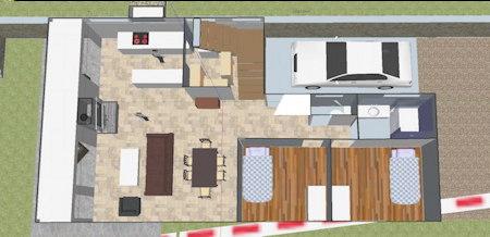 Plans De Maison En Pierre En 2 Et 3d