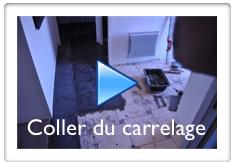 Vidéo pour coller du carrelage sur du carrelage