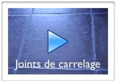 Vidéos sur la pose de joints de carrelage